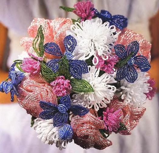 Делаем сами красивый свадебный букет