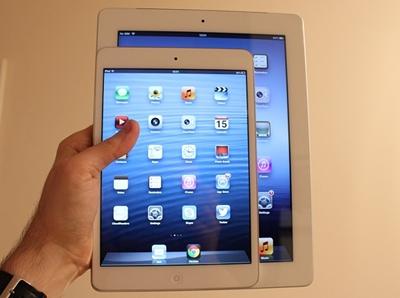 Чем отличается iPad mini от обычного Apple iPad?