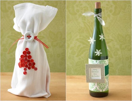 Как красиво оформить бутылку в подарок: 5 идей с фото