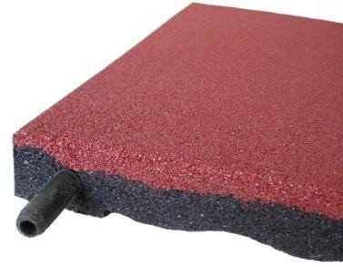 Плитка из переработанной резины – стильно и практично