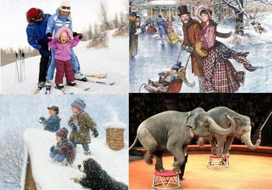 Подарите детям настоящие зимние каникулы