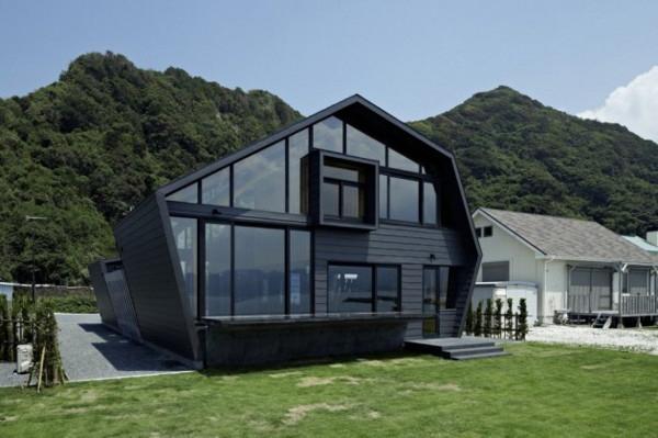 50 оригинальных домиков в горах: проекты и фотографии