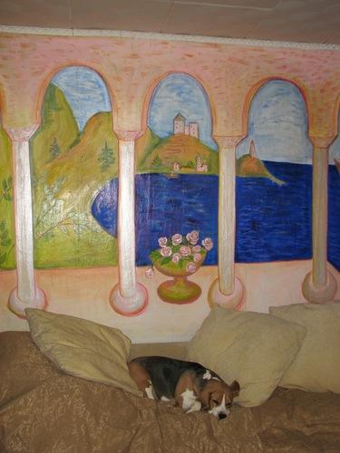 Мастер-класс: Роспись стен акриловыми красками