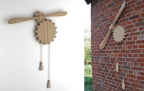 Деревянный вентилятор