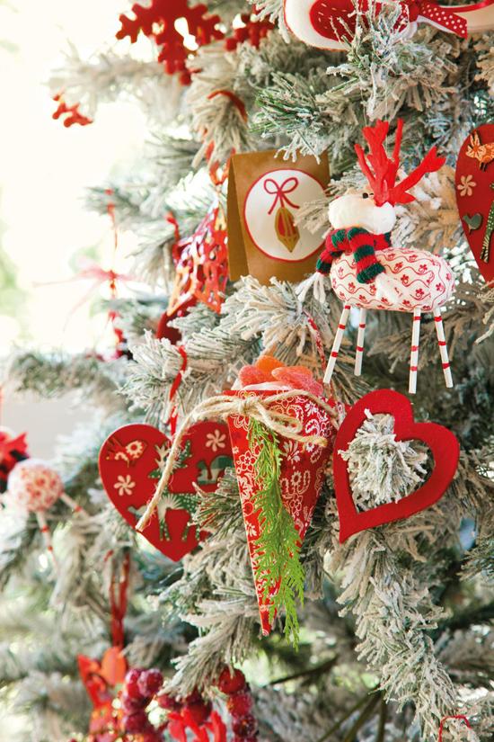 Рождественский интерьер дома в Мадриде