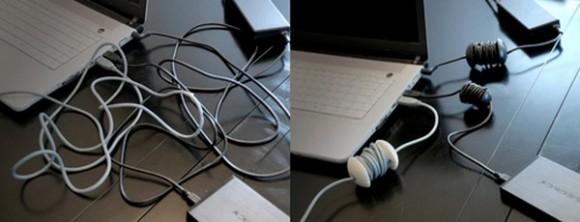 Органайзер для проводов Applecore – теперь не запутаются!