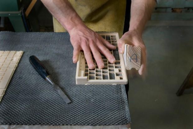 Деревянная клавиатура