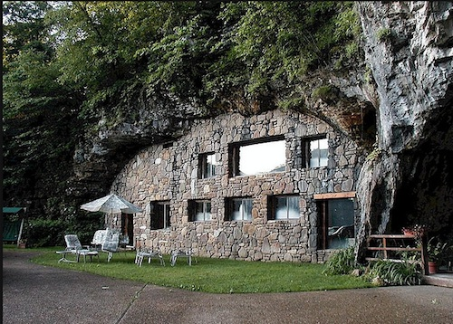 Дома в пещерах