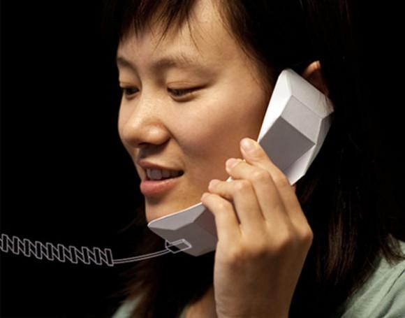 Оригами телефон