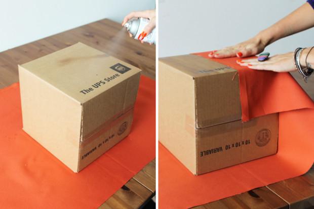 Как красиво оформить коробочку своими руками