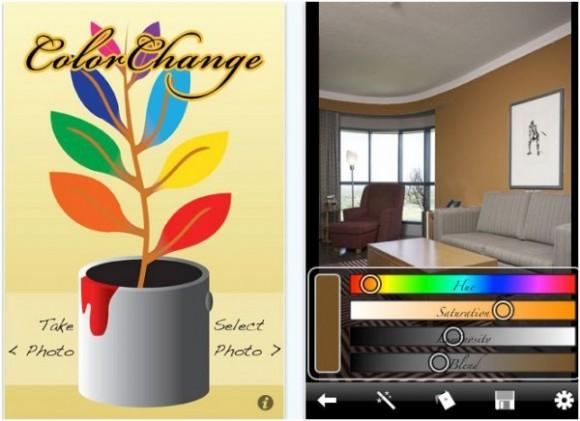 10 приложений для iPhone, которые помогут вам выбрать цвета для вашего дома