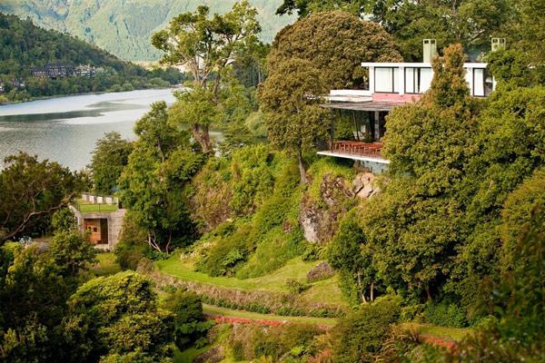 Iconic Antumalal – отель в Чили, созданный учеником Фрэнка Ллойда Райта