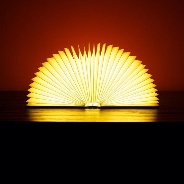 Книга? Нет, складной светильник!