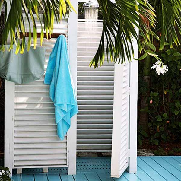 Летний душ: 15 идей