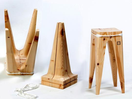 Деревянные предметы с выставки Wood Boost