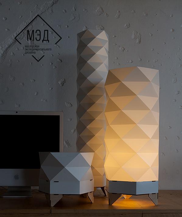 Напольные светильники от Московской мастерской МЭД