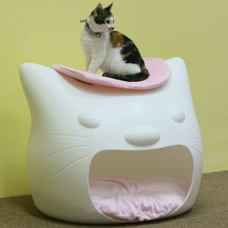 Табурет-домик для кошки