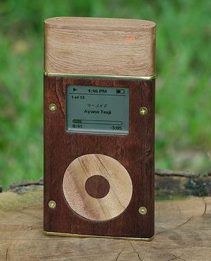 Деревянные панели для iPod