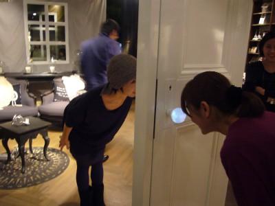 Комната в стеклянном глобусе