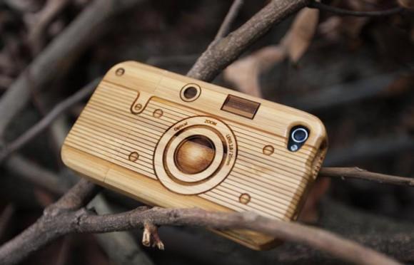 Ретро-камеры из бамбука