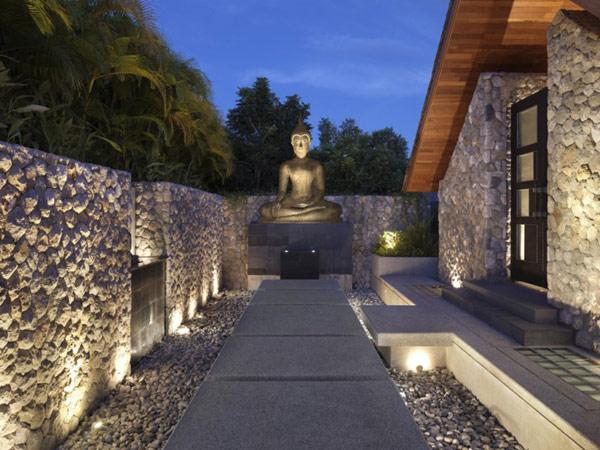Современный дизайн с азиатскими мотивами