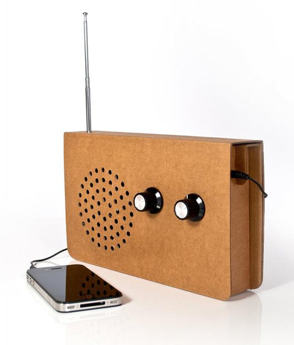 Картонное радио