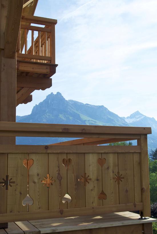 Традиционный альпийский интерьер