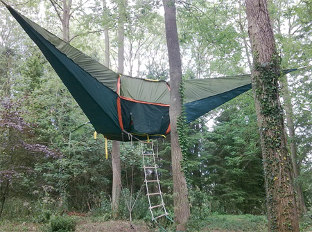 Кемпинг на дереве