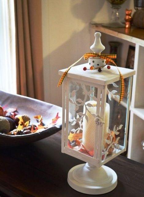 49 идей использования фонарей в осеннем декоре