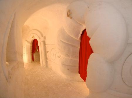 Снежные дома от Iglu-Dorf
