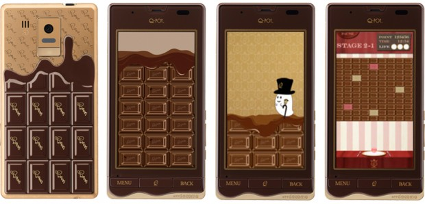"""""""Шоколадный"""" смартфон"""