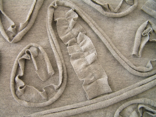 Подушка в стиле барокко своими руками