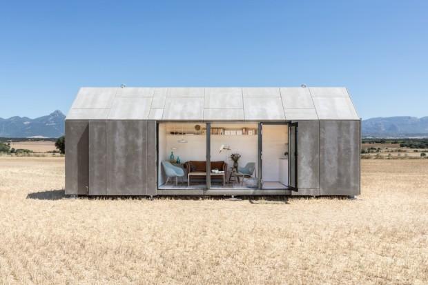 Компактный перевозной дом