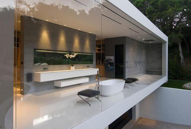 25 ванных комнат с прозрачными стенами