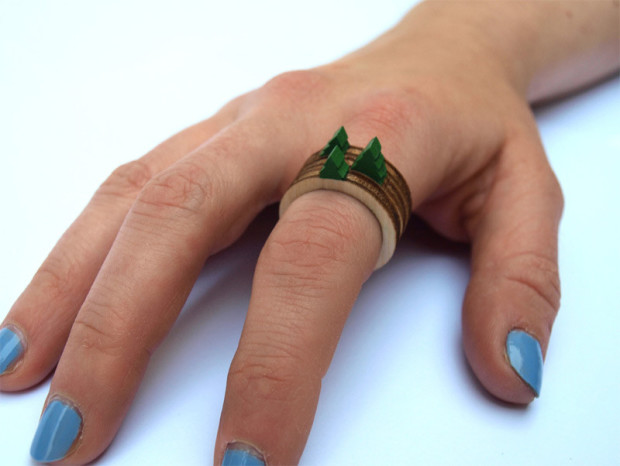 Экологичные кольца от Клайва Родди