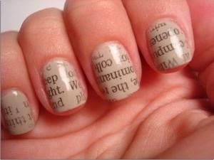 Год дракона и тенденции красивых ногтей: маникюрная мода 2012