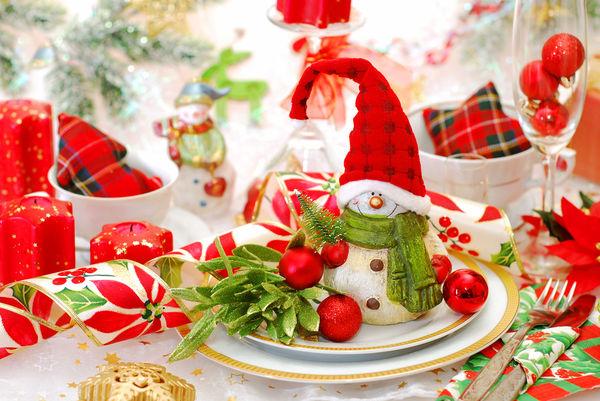Украшаем новогодний и рождественский стол