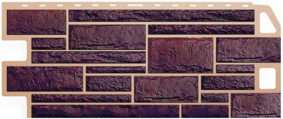 Цокольный сайдинг под камень (кирпич)