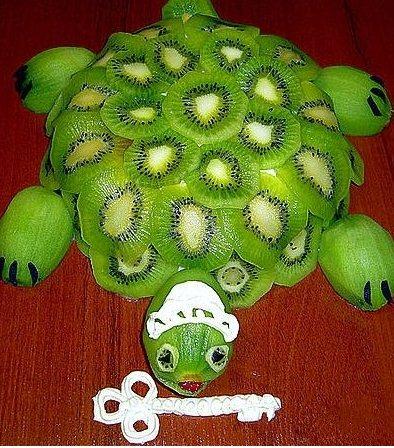 Какие есть поделки из фруктов