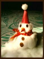 Как сделать снеговика на Новый годочек 2015
