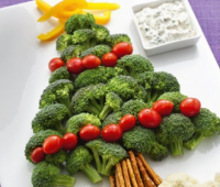 Украшения блюд на Новый год