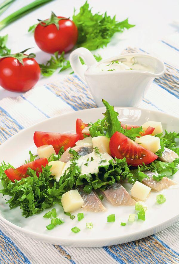 5 необычных салатов из  простых продуктов