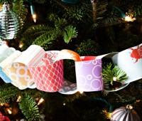 Как сделать новогоднюю гирлянду своими руками